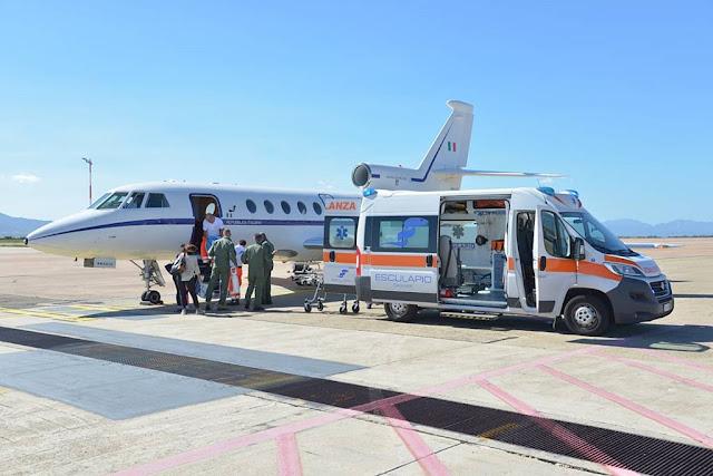 Aeronautica Militare voli sanitari