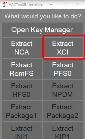 How To Get Switch Keys For Hactool Xci