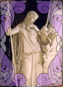 Statue of Eirene | Wicca, magic, Witchcraft, paganism