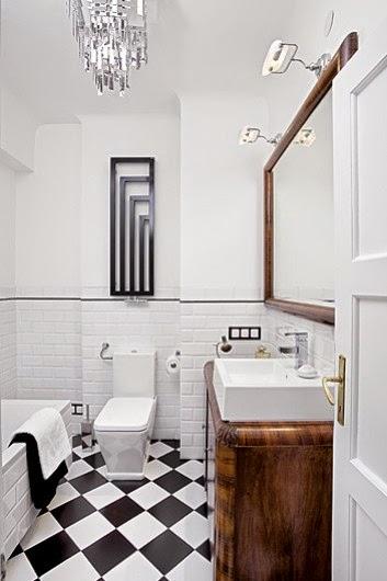 Interior un apartamento art dec ideal decoraci n for Decoracion art deco