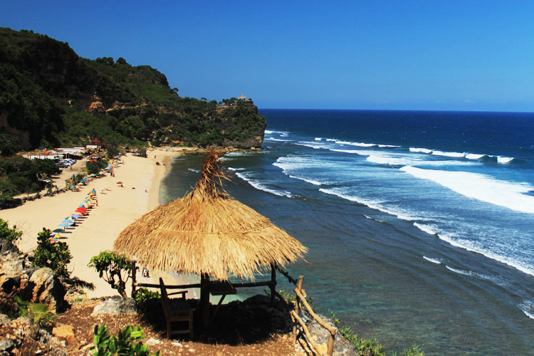 Lokasi Rute Dan Tiket Pantai Pok Tunggal Jogjakarta Wonderful Indonesia