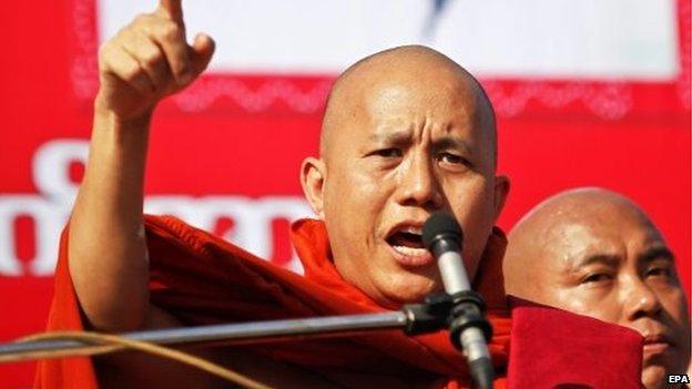 Biksu Radikal Tuntut Aung San Suu-kyi Mundur