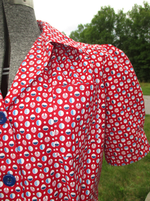 1940s reproduction blouse for sale