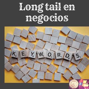 surgimiento del modelo de negocios Long tail aplicado también al cambio que supuso en comunicaciones internet y la modificación en los negocios y el SEO.
