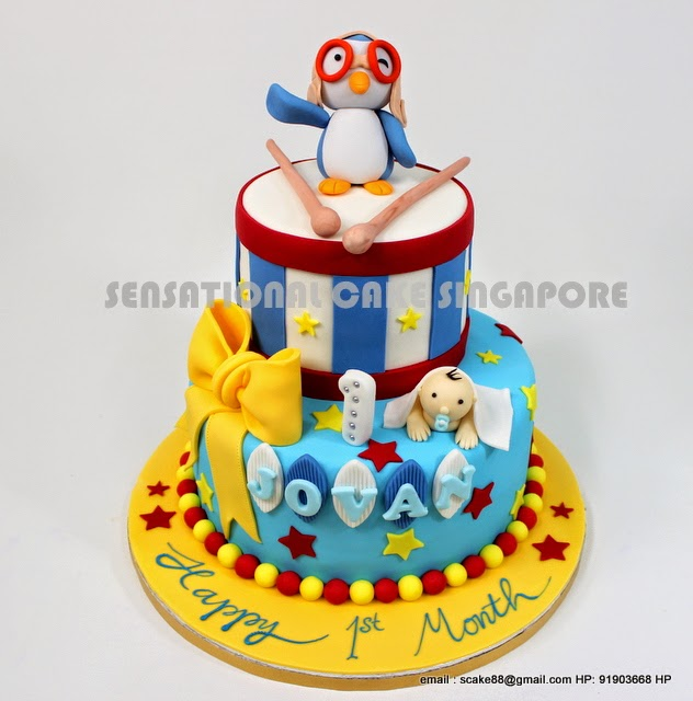 Cakeinspiration Singapore Pororo Korean Cartoon Cake