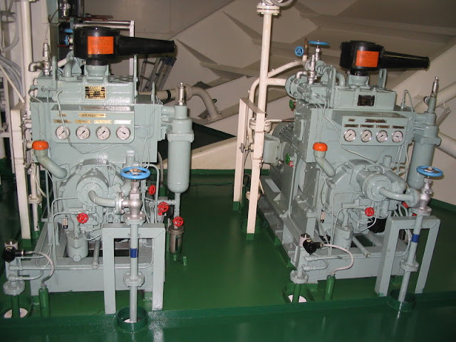 Function Air Compressor On a Ship