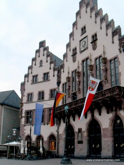 ayuntamiento de Frankfurt