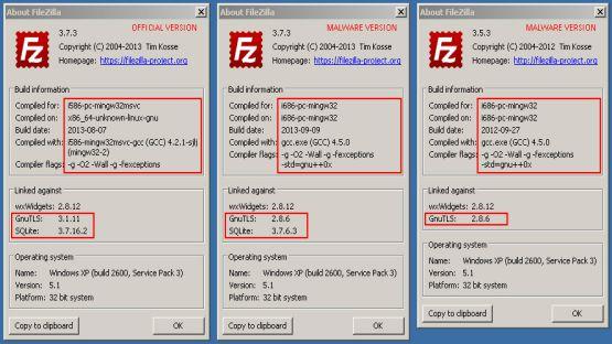 Filezilla screenshot 3