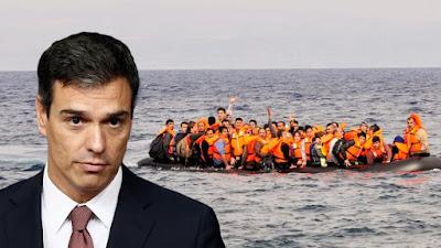 Sánchez, psoe, inmigrantes, inmigración,