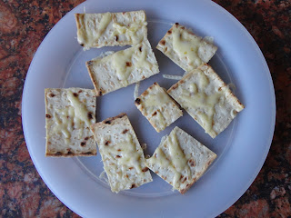 Home Made Tortilla Chips with Cheese