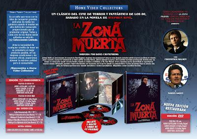 LA ZONA MUERTA. Edición coleccionista Blu-ray DISC