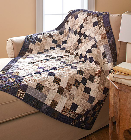The Light and Dark of It Quilt Free Pattern