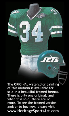 New York Jets 1993 uniform
