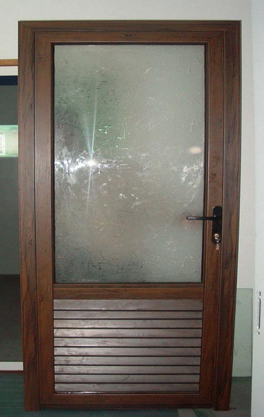 Gbr Pintu Dapur Aluminium Bagus