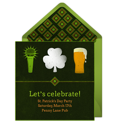 St Patrick's Day Party Planning