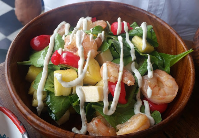 Cheese, Cherry and Pineapple Salad