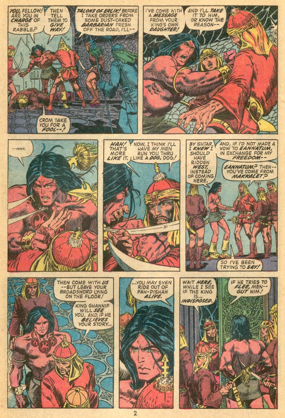 Conan the Barbarian (1970) Issue #23 #35 - English 3