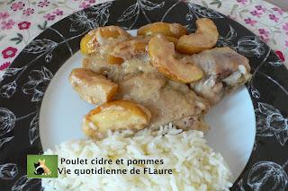 Vie quotidienne de FLaure: Poulet cidre et pommes