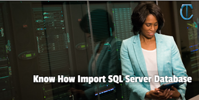 Know How to Import SQL Server Database From One to Another