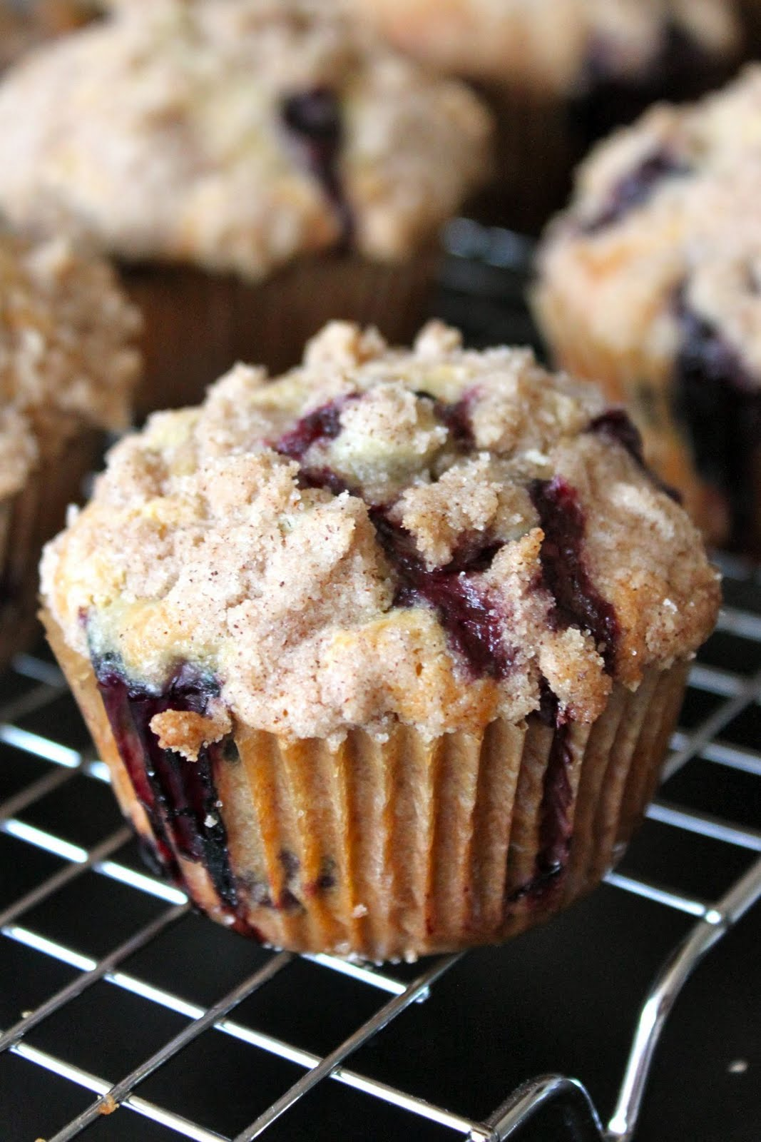 Baked Perfection: Farm Fresh Bakery Style Blueberry Muffins