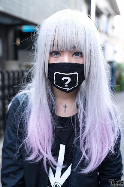 pastel goth hairstyles - haircut