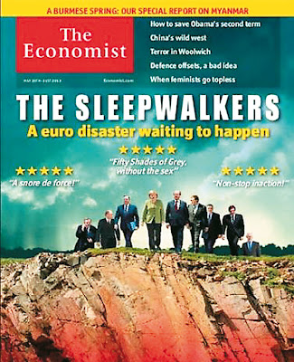 The Sleepwalkers, a euro disaster waiting to happen, Portugal, European Union, The Economist