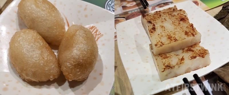 Tim Ho Wan ham sui gok turnip cake