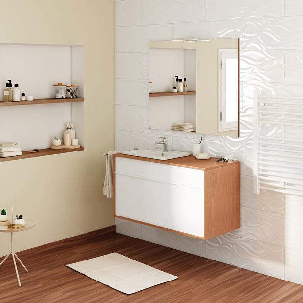 50 fotos de m veis para casa de banho pequena decora o - Casas de madera leroy merlin ...