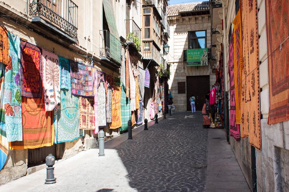 Bazar en Granada, 2014