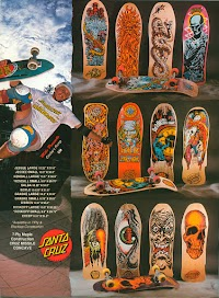 Most Iconic Skateboards of the 1980's?