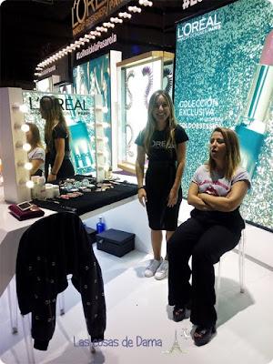 Novedades maquillaje L'Oréal Fashion Week Madrid Paula Soroa