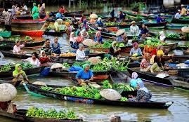 Pasar Terapung Muara Kuin