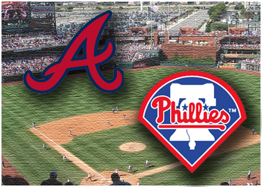 Philadelphia Phillies wrap up series with Braves.