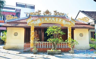 Nơi lưu giữ tuổi thơ của Tế Hanh tại Quảng Ngãi