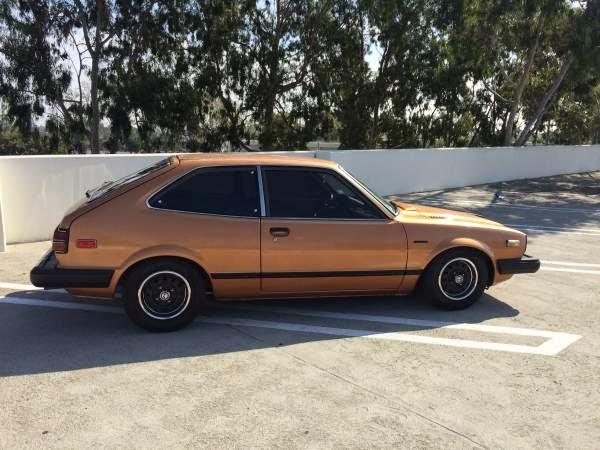 Classic Hatchback 1980 Honda Accord Lx Auto Restorationice