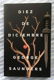 Portada del libro Diez de diciembre, de George Saunders