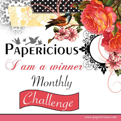 Winner At Papericious February Challenge