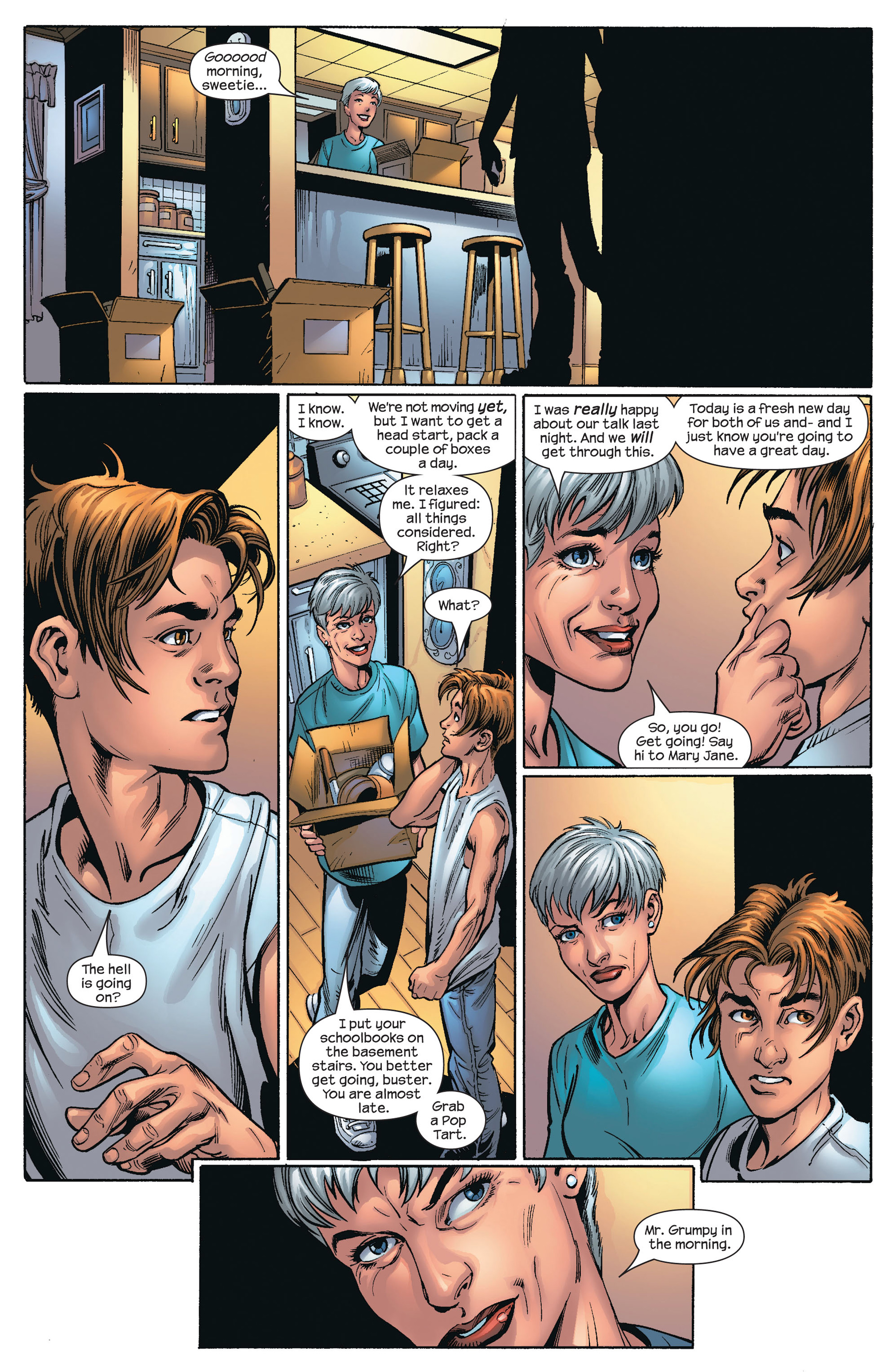 Read online Ultimate Spider-Man (2000) comic -  Issue #66 - 4