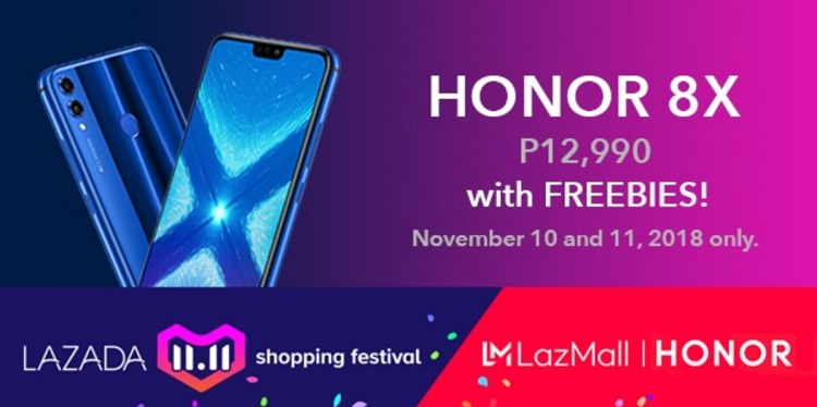 Honor Joins Lazada 11.11 Shopping Festival