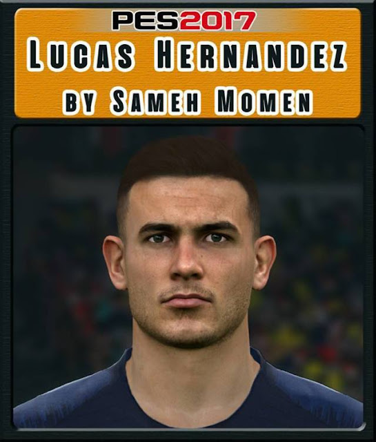 Lucas Hernandez Face PES 2017