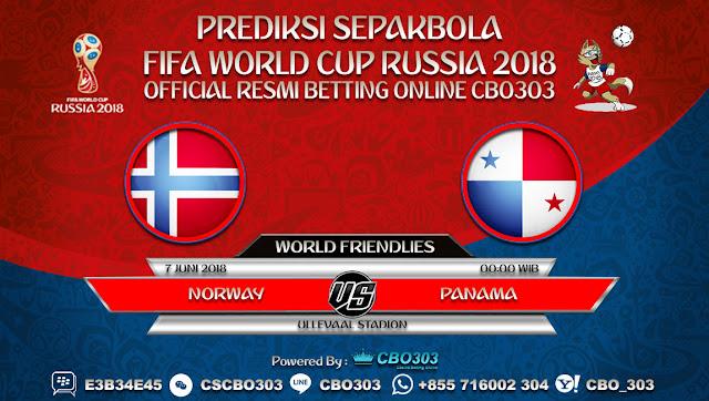 Prediksi Bola Norway VS Panama 07 Juni 2018