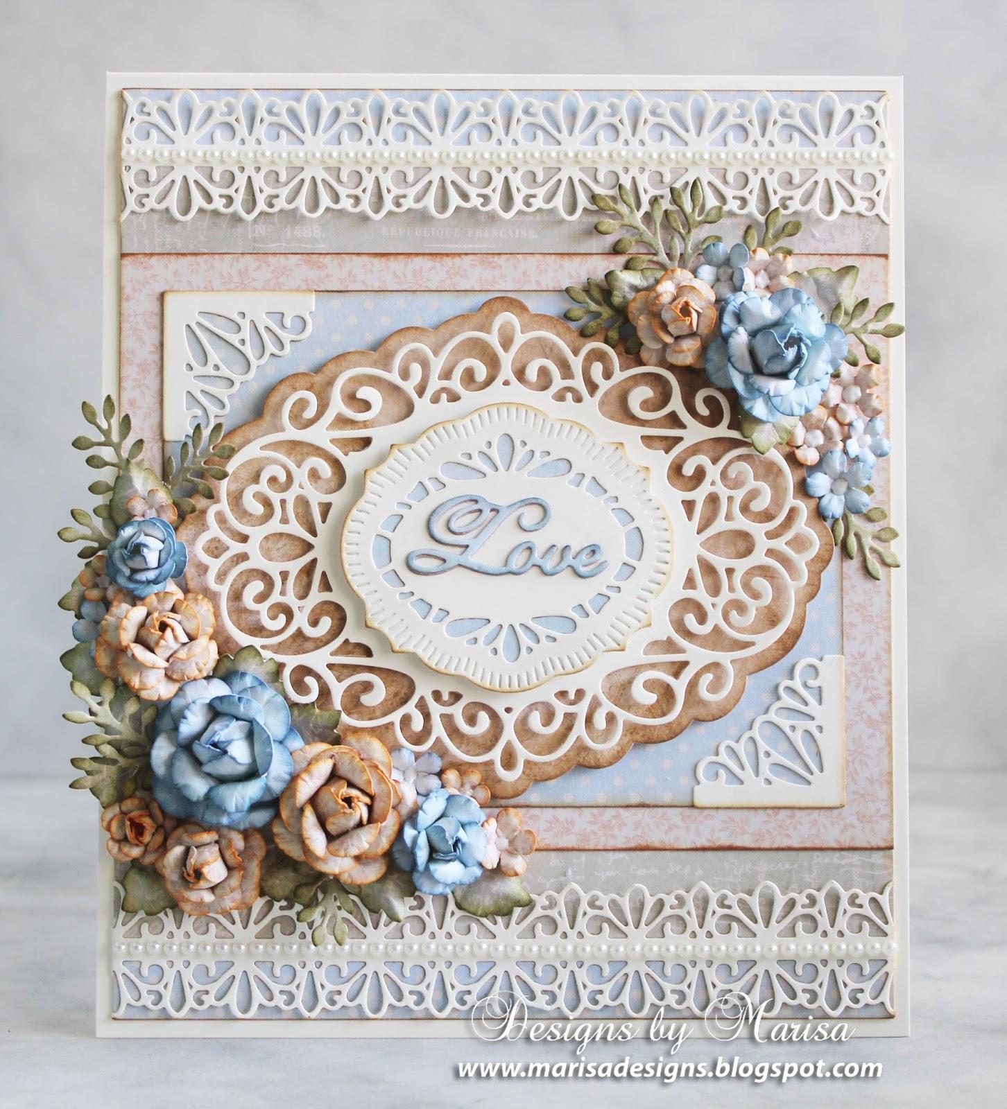 designsmarisa wedding card  craft diessue wilson
