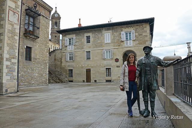 Celedón y Los arquillos, Vitoria