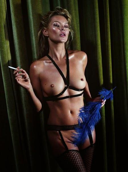 Mert & Marcus. Desnudando a Kate Moss