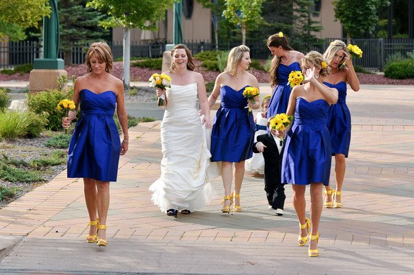 Shop Joielle: Real Weddings Round Up: Blue And Yellow