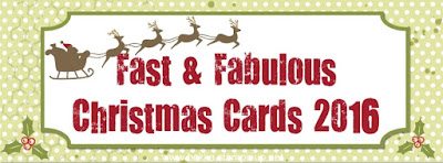 Fast and Fabulous Christmas Card Series for 2016 - register here to get the 2016 Collection of Fast and Fabulous Christmas Cards