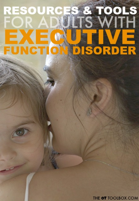 Adults with executive function disorder can struggle with organization, trouble with planning, prioritization, etc.Here are tools and strategies to help the adult with executive function problems.i
