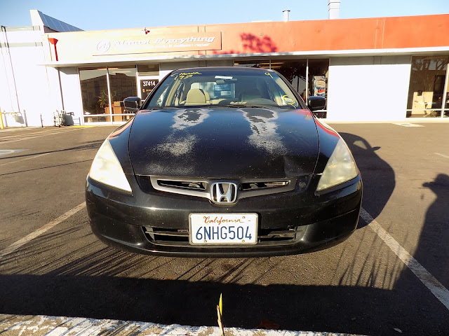 2003 Honda Accord before paint at Almost Everything Auto Body.