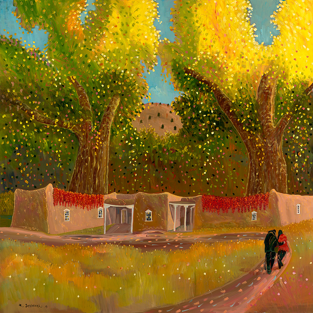 Ed Sandoval ~ expressionista romântico
