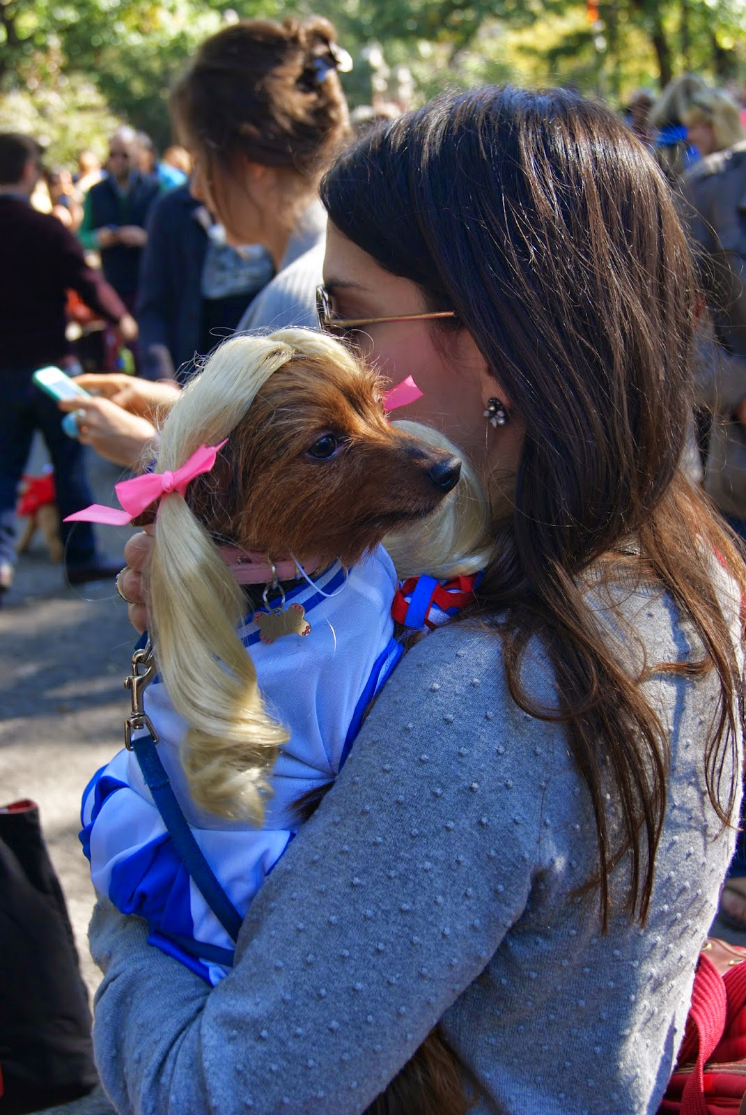 Tomkins Square park dog halloween parade 2017